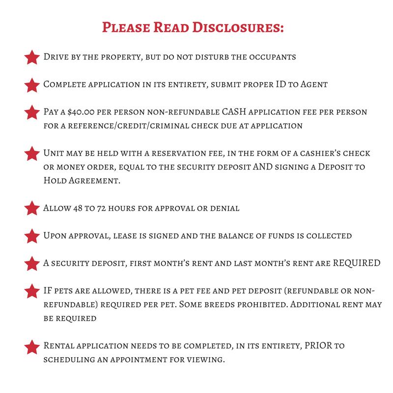 Rental-Disclosure