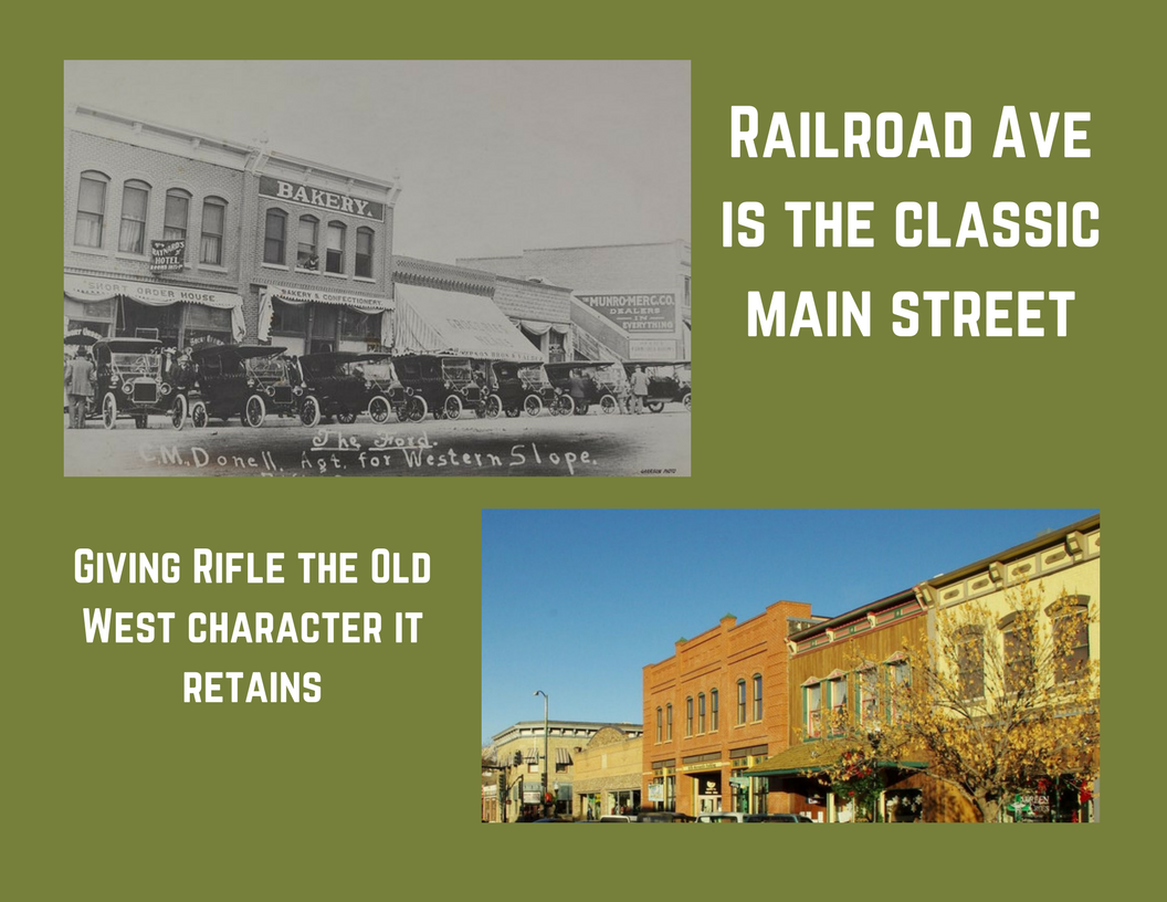 Rifle, Colorado brochure Main Street
