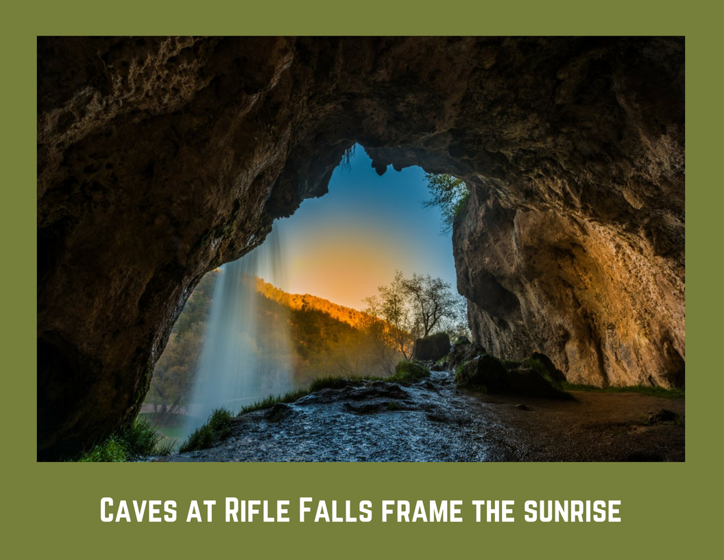 Riflebrochure Rifle Falls State Park Cave