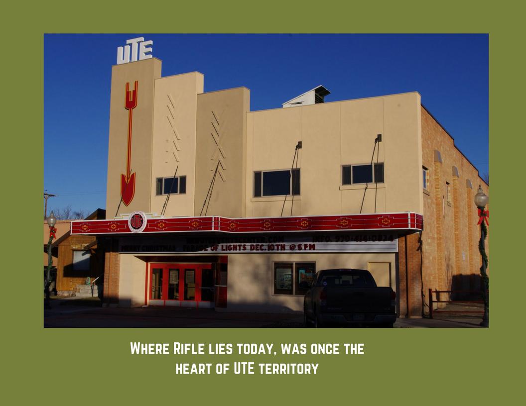 rifle brochure Ute Theater