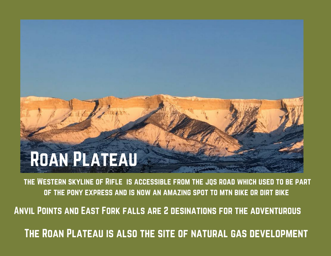 Rifle brochure Roan Plateau